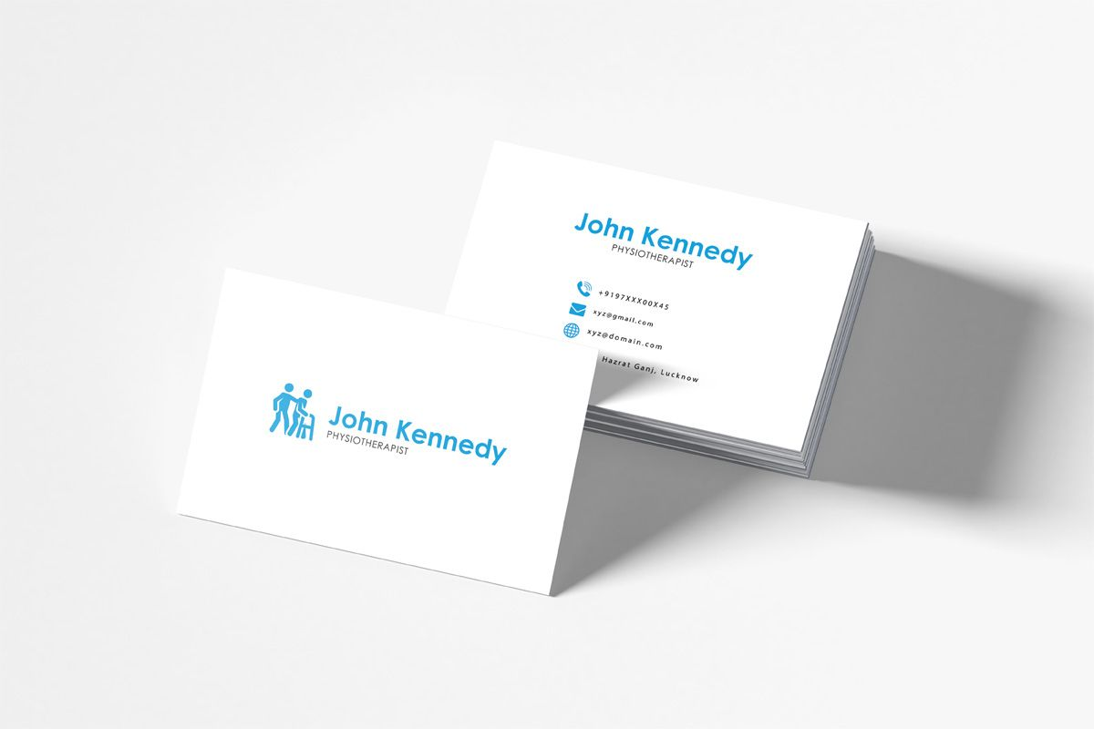 Free Physiotherapy Business Card Template Creativetacos Within Free Complim Business Card Template Photoshop Free Business Card Templates Free Business Cards
