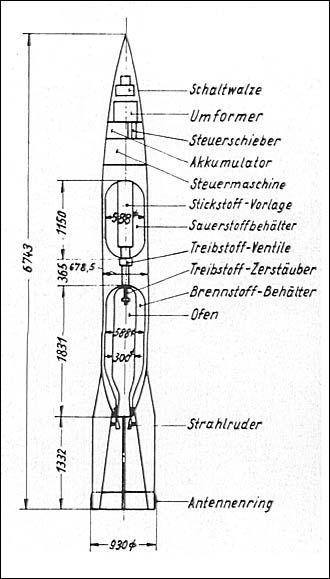 wernher von braun u0026 39 s aggregat 5 rocket