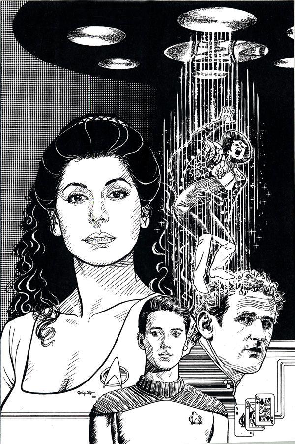 Star Trek Tng Hand Of The Assassin By Jerome K Moore On Deviantart Star Trek Characters Star Trek Art Star Trek