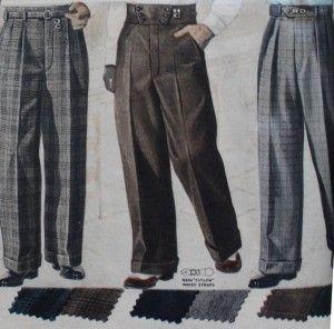 New 1930s Style Men S Pants 1920s 1950s Mens Pants