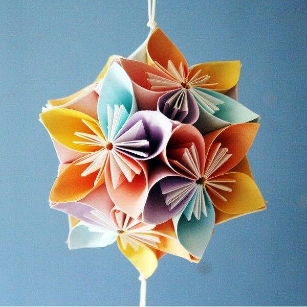 How to make beautiful origami kusudama flowers origami origami how to make beautiful origami kusudama flowers mightylinksfo Gallery