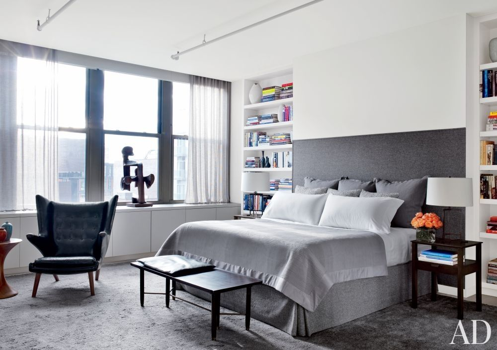 Modern Bedroom by Shawn Henderson Interior Design and Richard ...