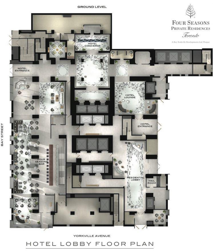Luxury Condo Interior Design: Four Seasons Hotel And Private Residences Toronto