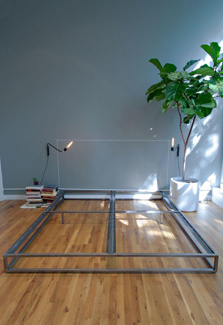 Bed Frame | Diseño | Pinterest | Camas, Muebles de metal y Bases de cama