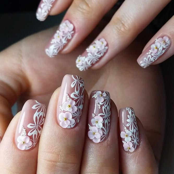 wedding nails design - Wedding Nails Design - Pertamini.co
