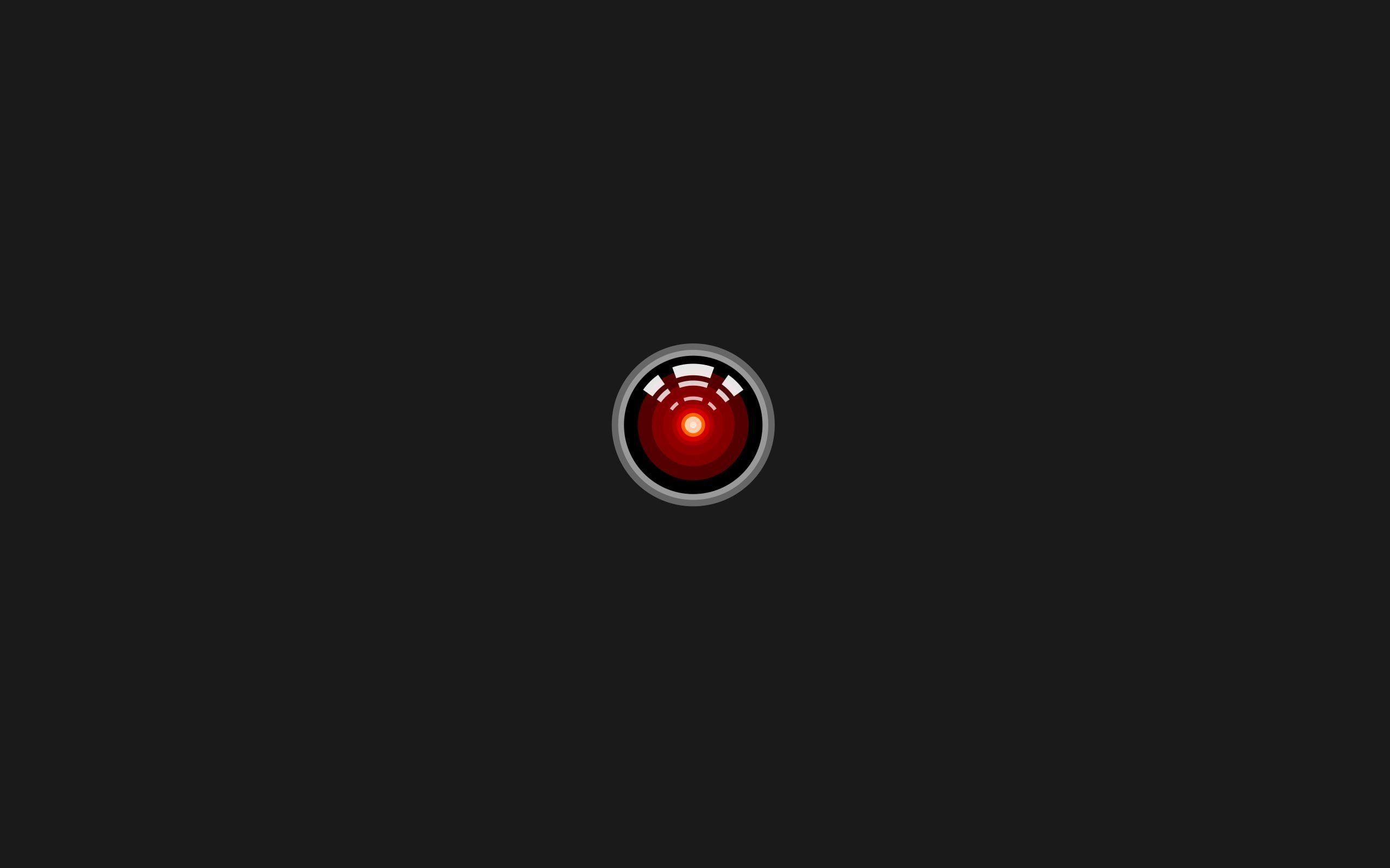 2001 A Space Odyssey Hal 9000 Minimalism Movies Stanley Kubrick 2k Wallpaper Hdwallpaper Desktop Hd Wallpaper Minimalism Movie Latest Hd Wallpapers