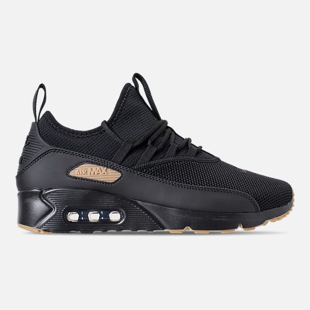 6fa1cfe065d Right view of Men s Nike Air Max 90 EZ Casual Shoes in Black Gum Light Brown
