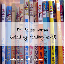 Dr. Seuss Books By Reading Level