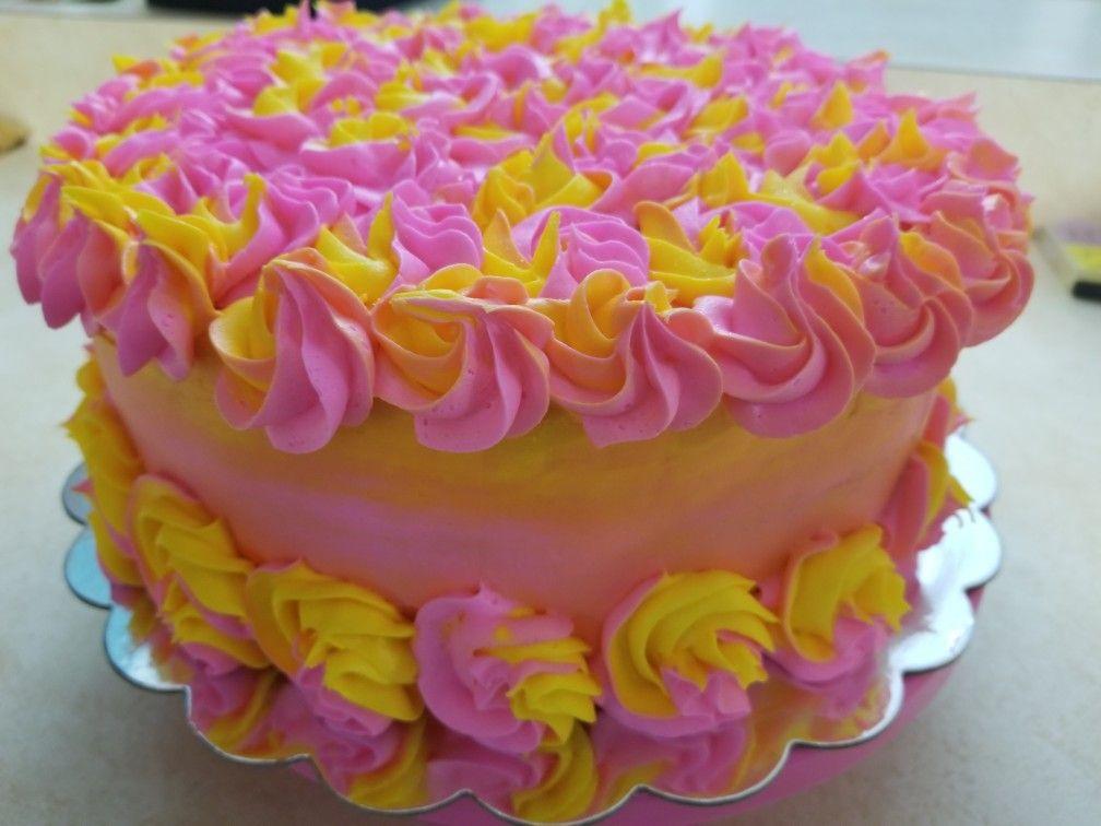 sunrise cake cakes pinterest cake