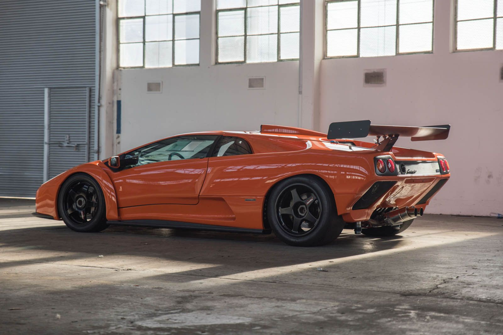 This Lamborghini Diablo Gtr Is Just Begging For A Day At The Track