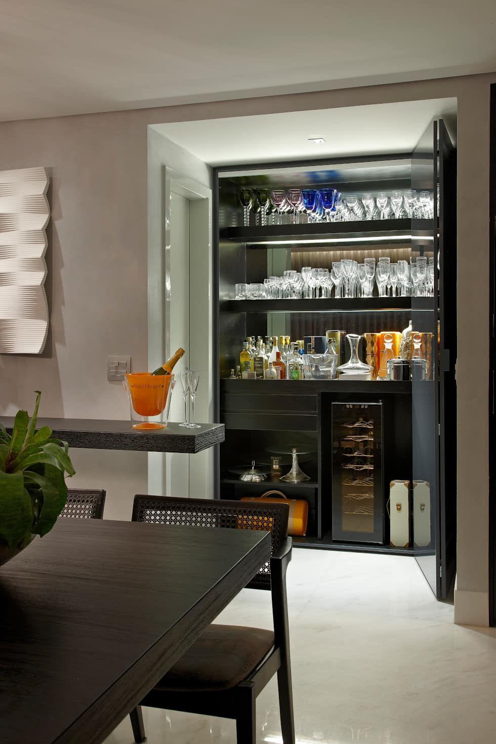 fotos de decoração, design de interiores e reformas bar, interiorsBar Counter Design For Zen House #8