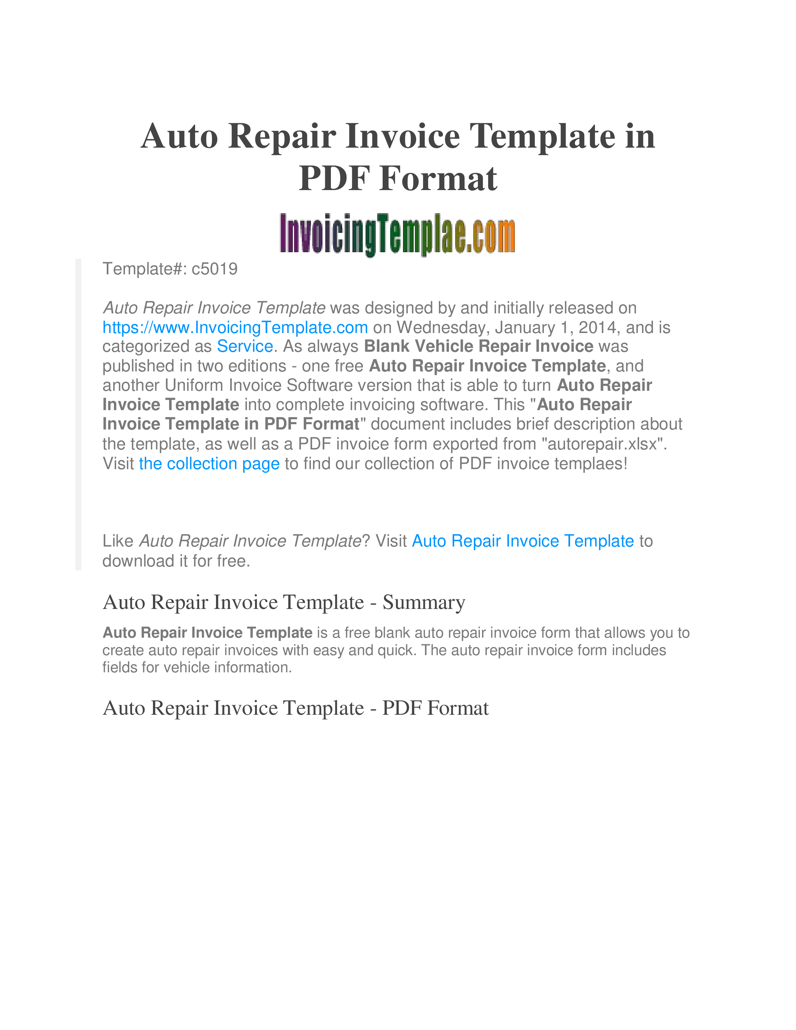 Car Service How To Create A Car Service Download This Car Service Template Now Invoice Template Bill Template Templates