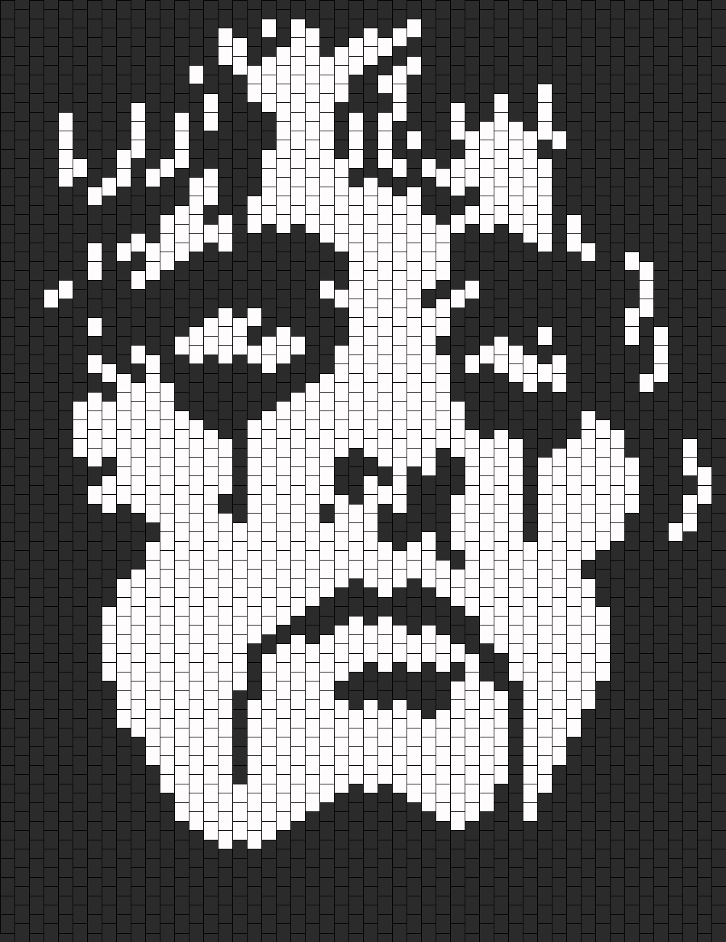 Alice Cooper bead pattern   Cross Stitch   Pinterest   Punto de cruz ...