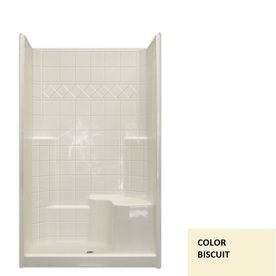 Laurel Mountain Benton Low Threshold Barrier Free Biscuit Acrylic