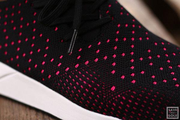 adidas zx flux rose et noir