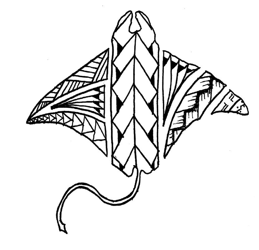 polynesian manta ray tattoo designs store mokutattoo tattoos pinterest. Black Bedroom Furniture Sets. Home Design Ideas