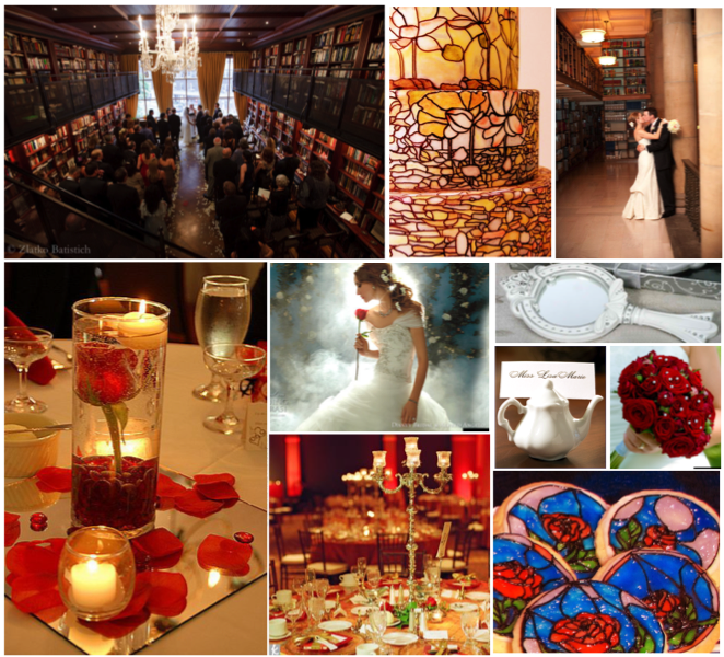 Disney Wedding Boards Beauty And The Beast Themed Wedding Page And The  Beast Themed Wedding