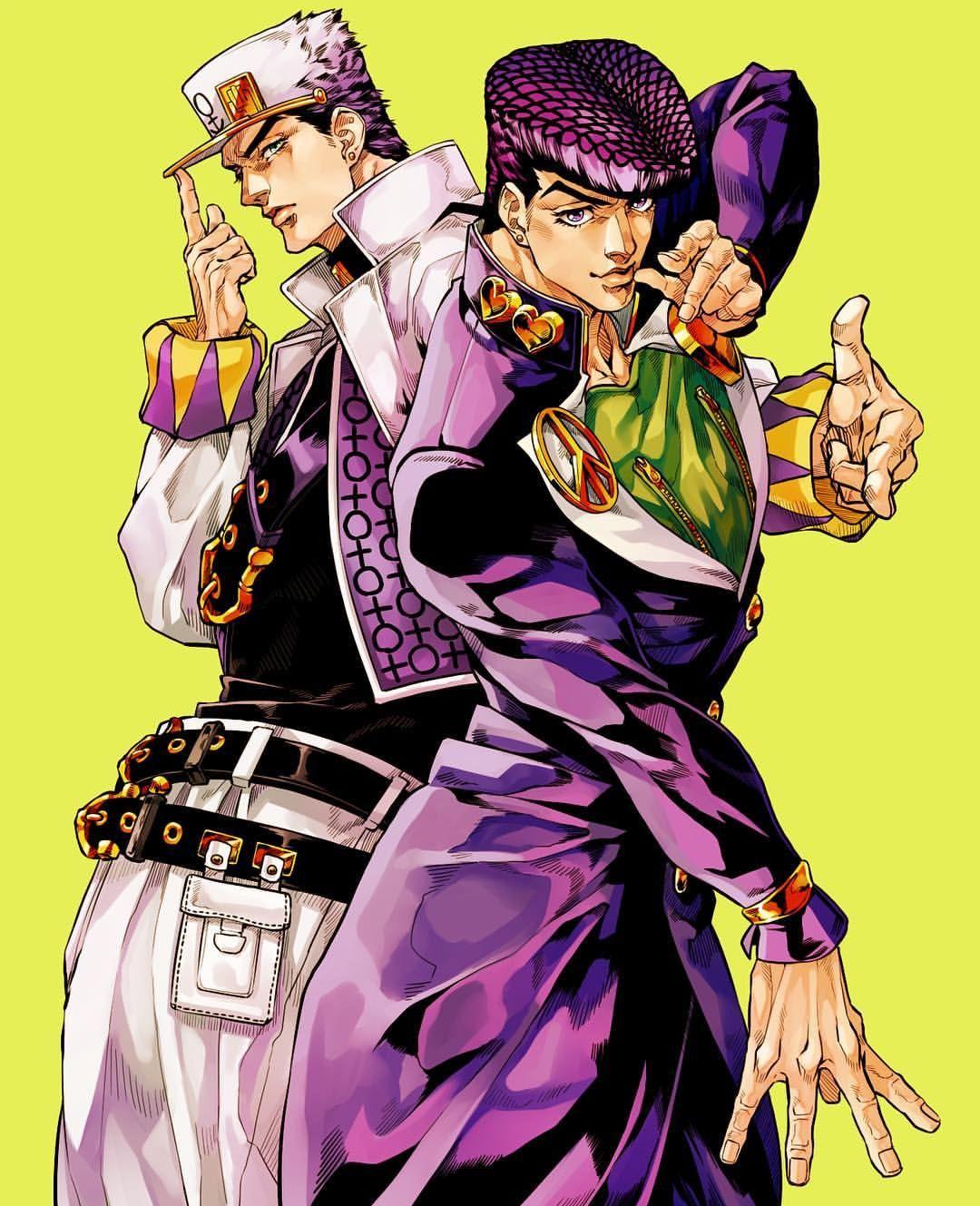 Jojo S Bizarre Adventure Diamond Wa Kudakenai Follow Anime Ishi For More Credit Akei On Jojos Bizarre Adventure Jotaro Jojo Bizarre Jojo Bizzare Adventure