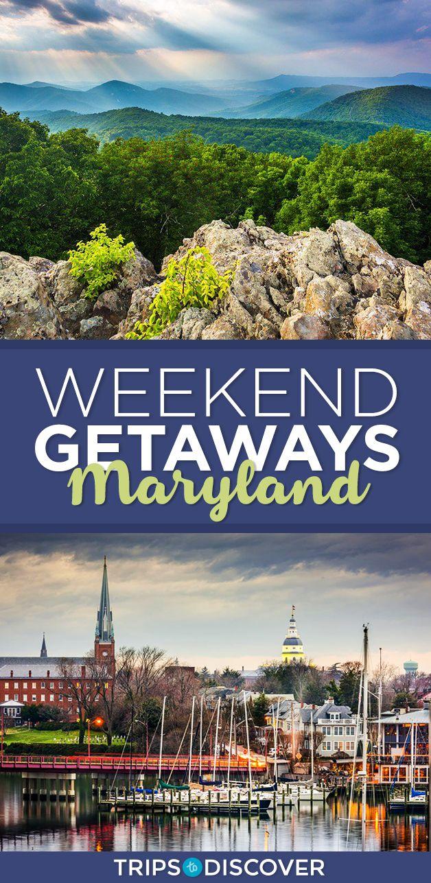 9 best maryland weekend getaways | usa travel | pinterest | weekend