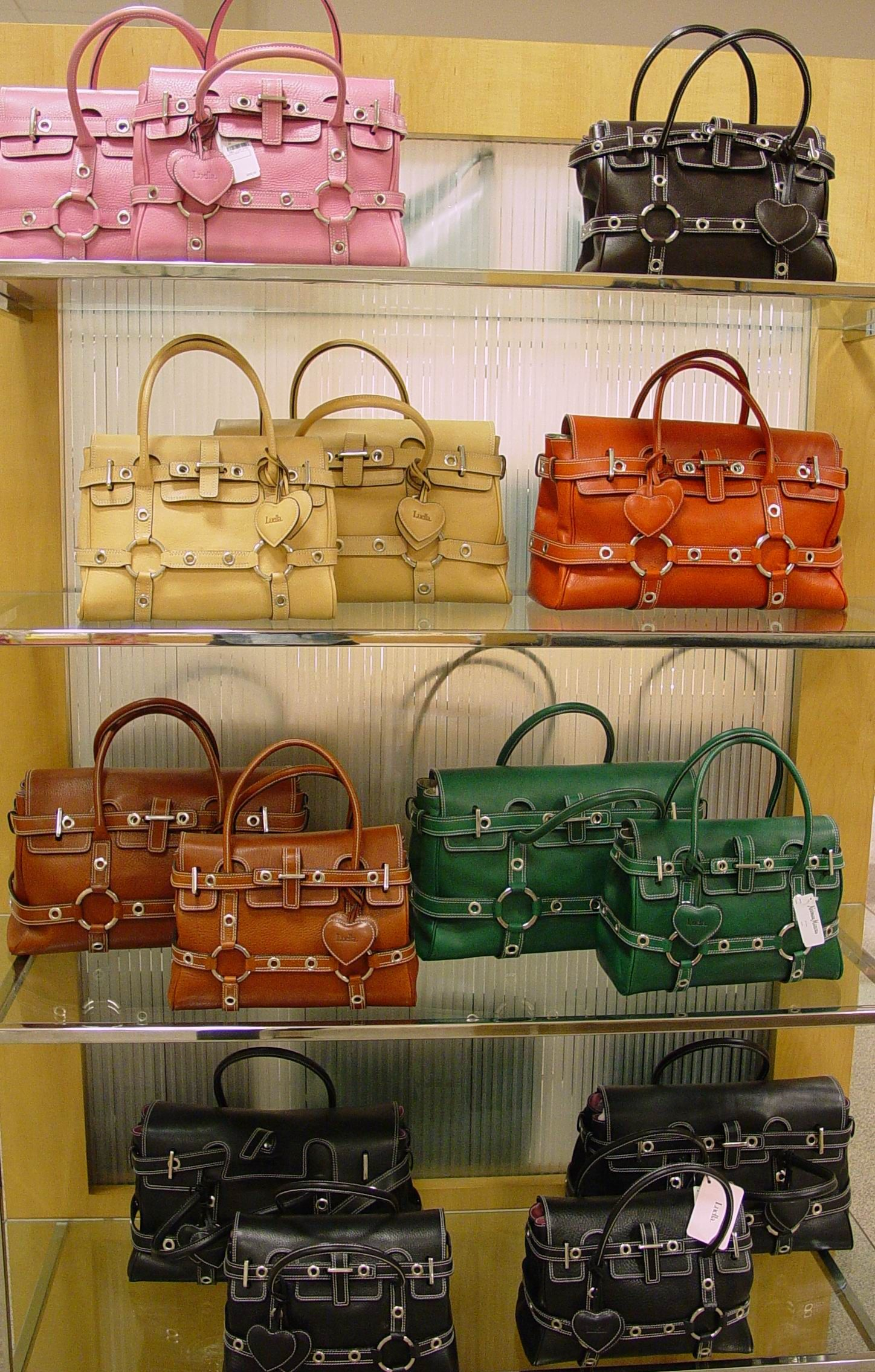 acd4762e71 Luella Giselle Bags: Luella Bartley is a British fashion designer. In 2002,  the