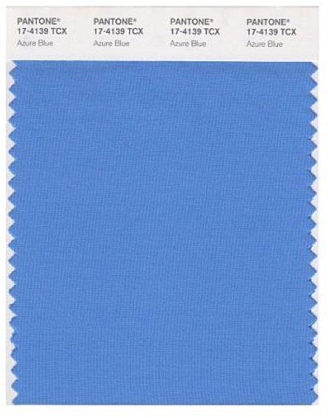pantone azure blue the colour of colour pinterest