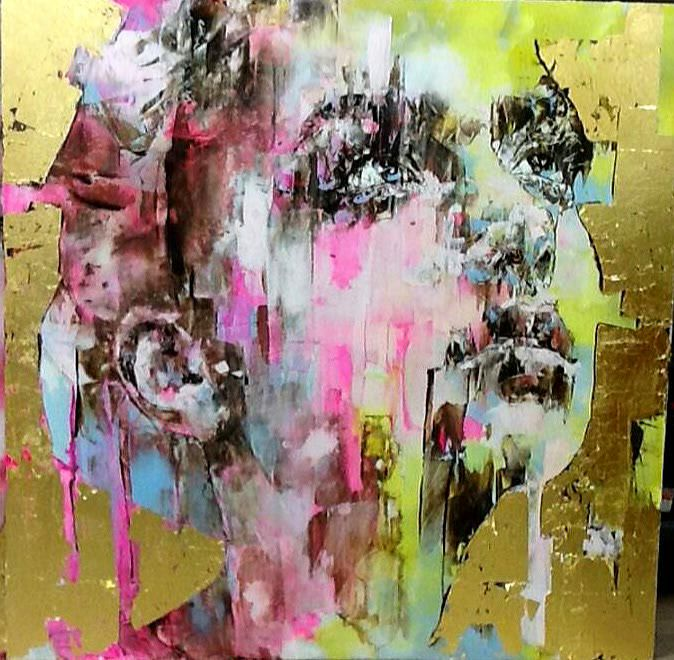 Adam Blue on | Rostros, Arte contemporáneo y Marcos