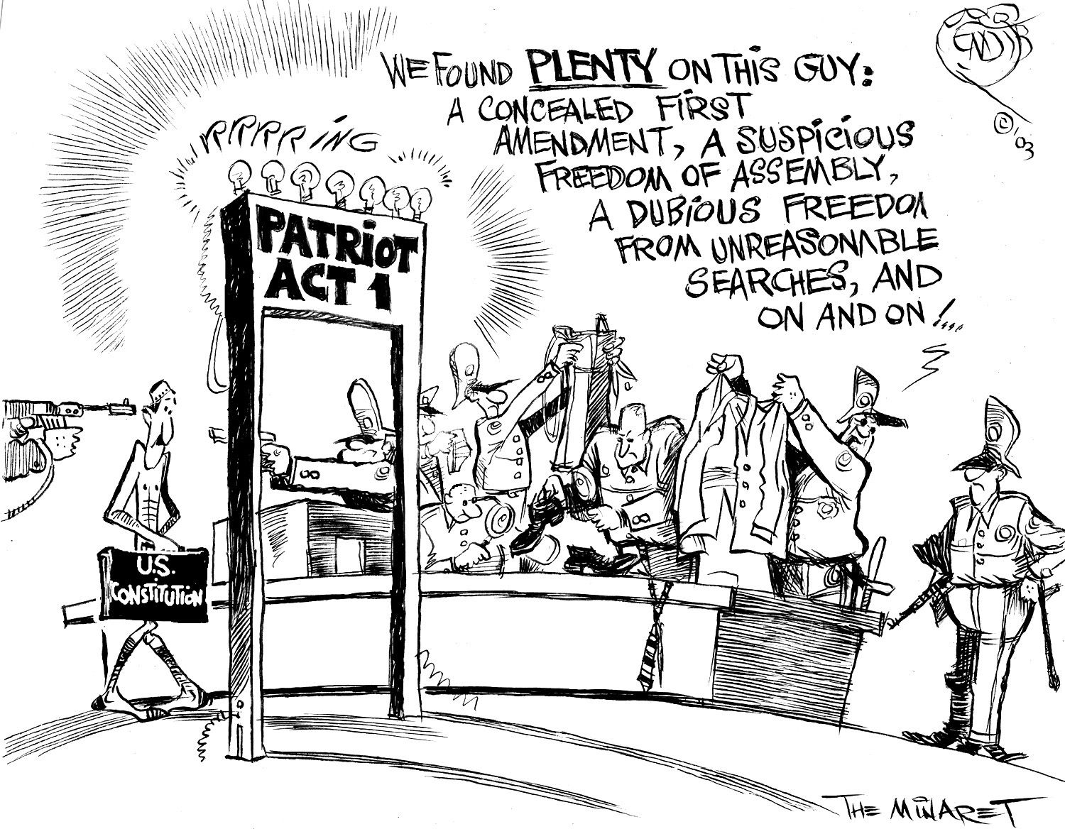 Most Of The American Public Believes That The Patriot Act