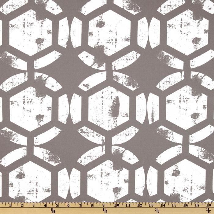 Ty Pennington Home Decor Impressions Honeycomb Gray - Discount ...
