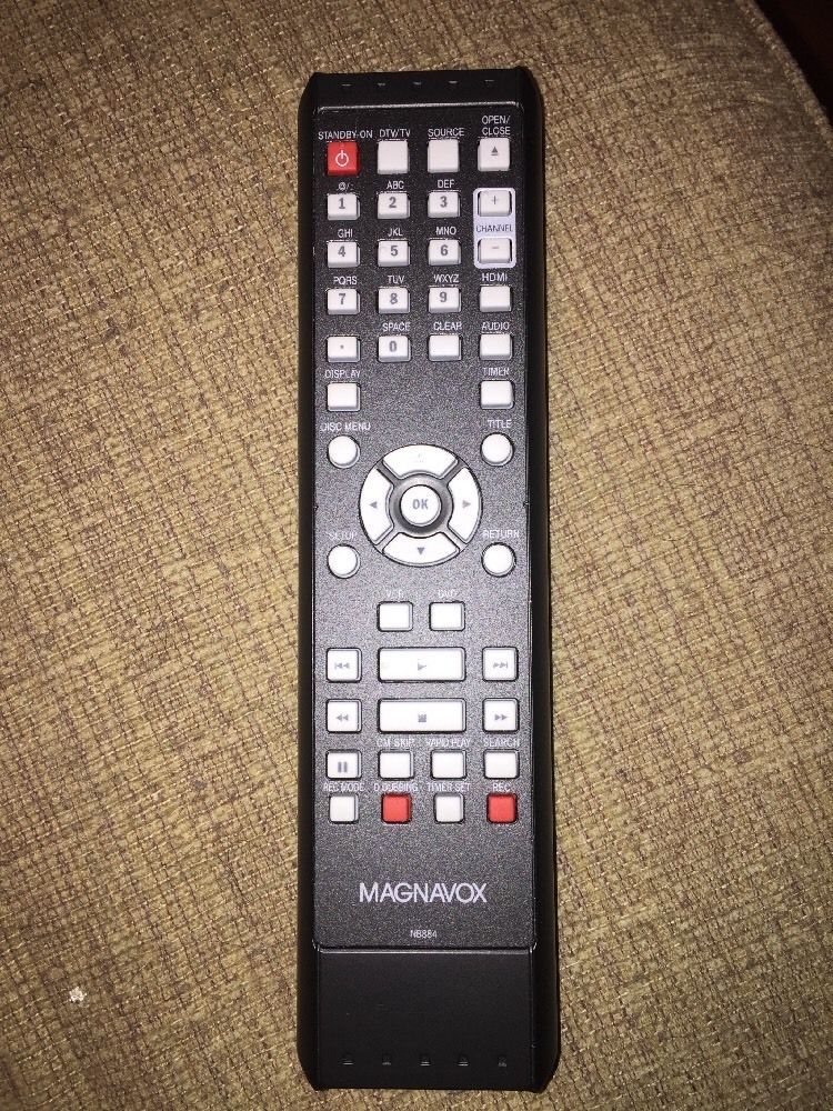 MAGNAVOX NB884 DVDR/VCR REMOTE CONTROL ZV457MG9A TESTED | eBay | My