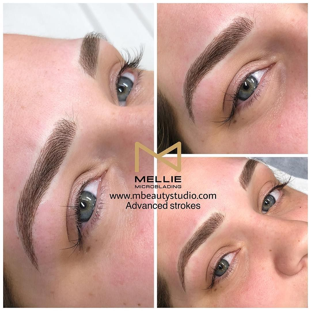 Eyebrows Microblading By Mellie For Appointments Please Visit Our
