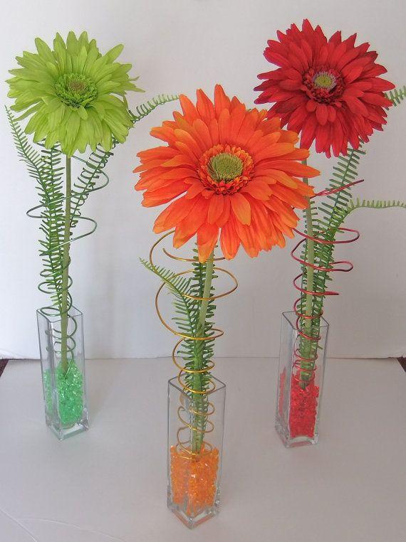 Handmade Spark Wreathmic Creations Gerbera Daisy