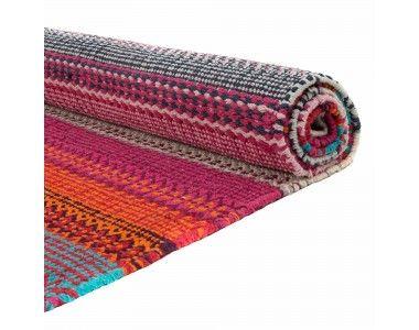 Http Www Urbanara Co Uk 3871 12141 Thickbox Pink Grey Turquoise Cotton Rug Aonla Jpg Orange Area Rug Cotton Rug Wool Area Rugs