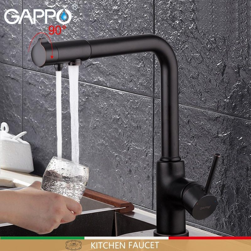 Gappo Kitchen Faucet With Filtered Water Faucet Tap Kitchen Sink