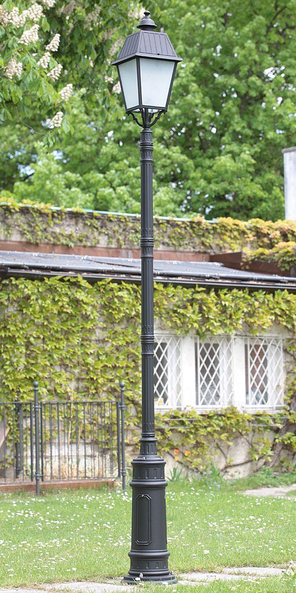 Italian Garden Pillar Lamp 92530P0220 *Große Gussmast-Standleuchte - solarleuchten garten antik