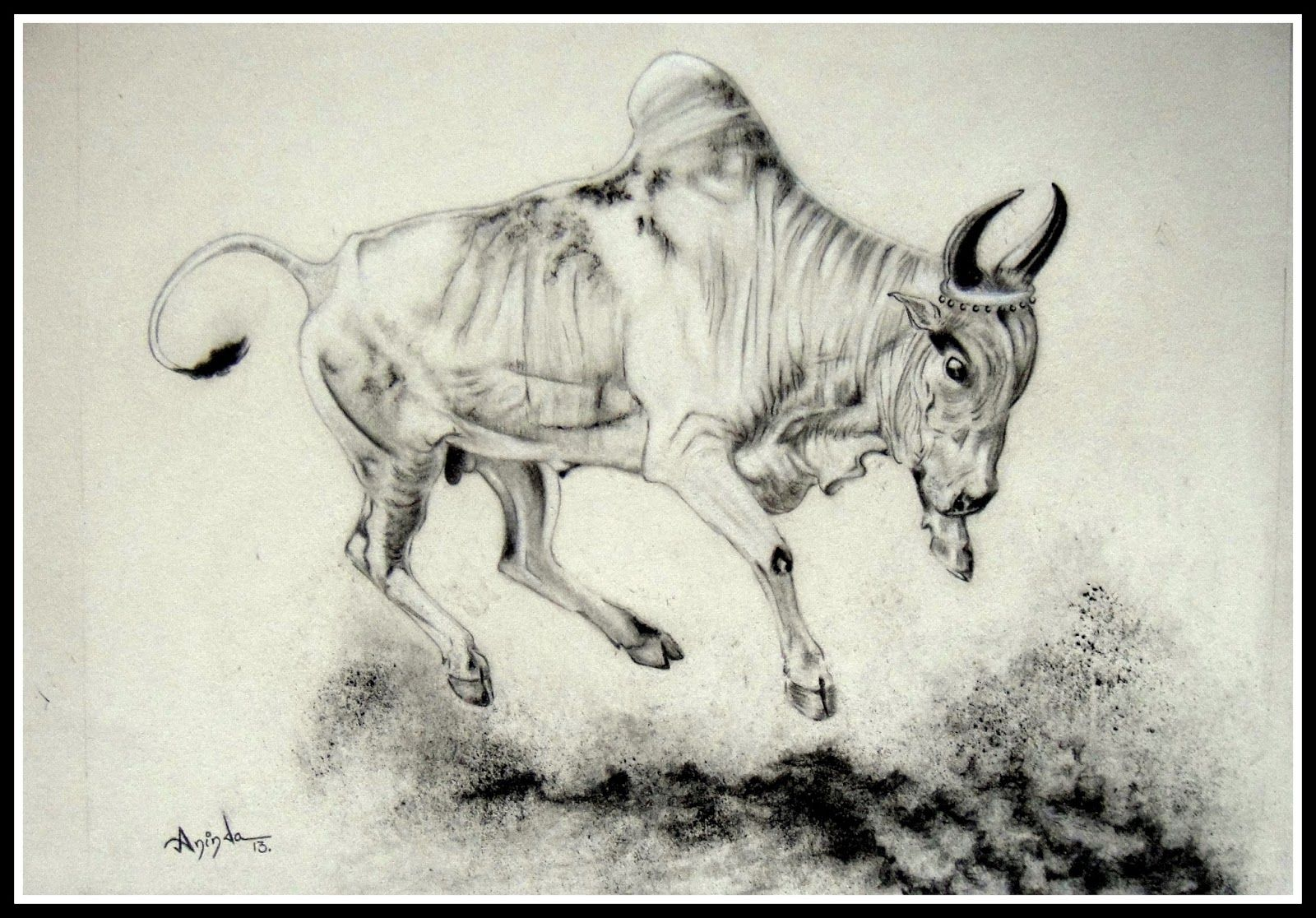 Jallikattu Kaalai Google Search Draw Pinterest Moose Art