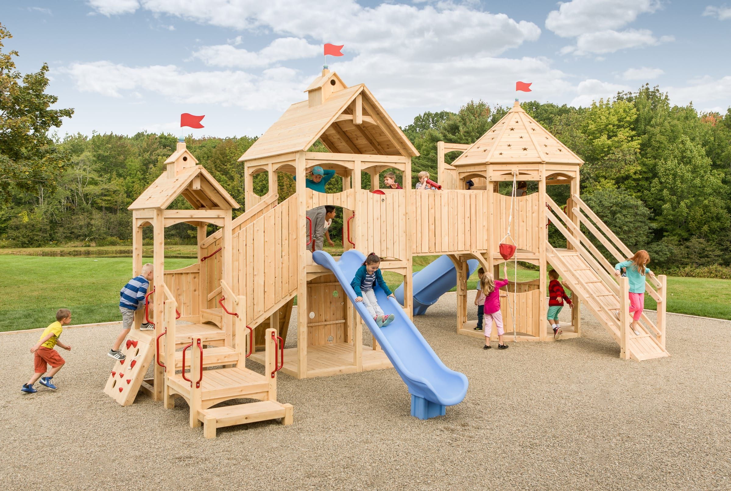 Commercial Outdoor 430 Cedarworks Playsets Playset Outdoor Playground Areas Outdoor Playground