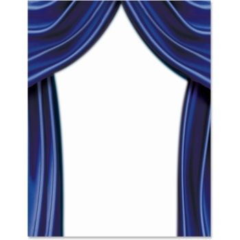 Stage Curtains Border Papers Borders For Paper Stage Curtains Paper Decorations