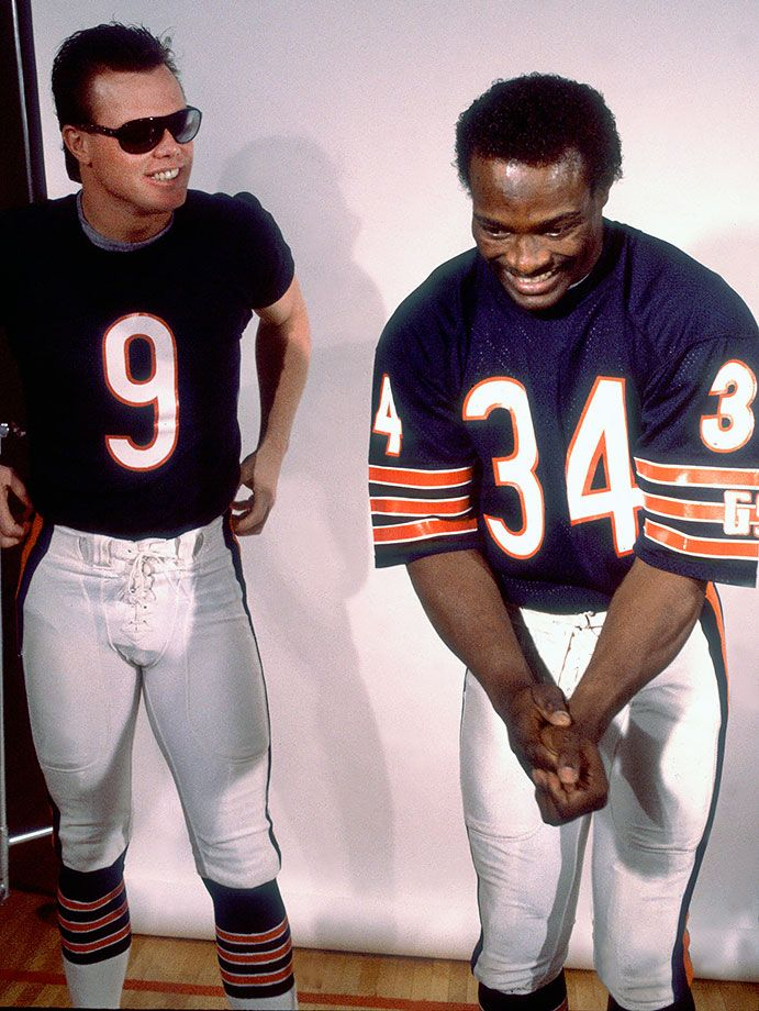 Jim Mcmahon And Walter Payton Chicago Sports Teams Chicago Bears Football Walter Payton
