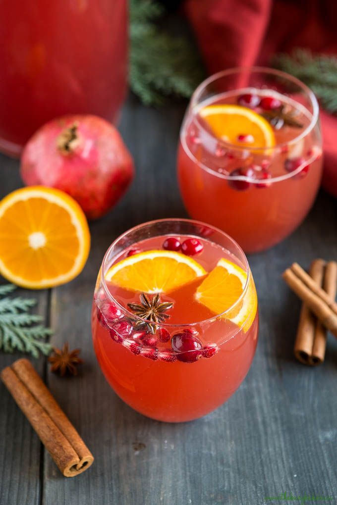 This Best Ever Christmas Punch is the perfect drink to serve at any holiday