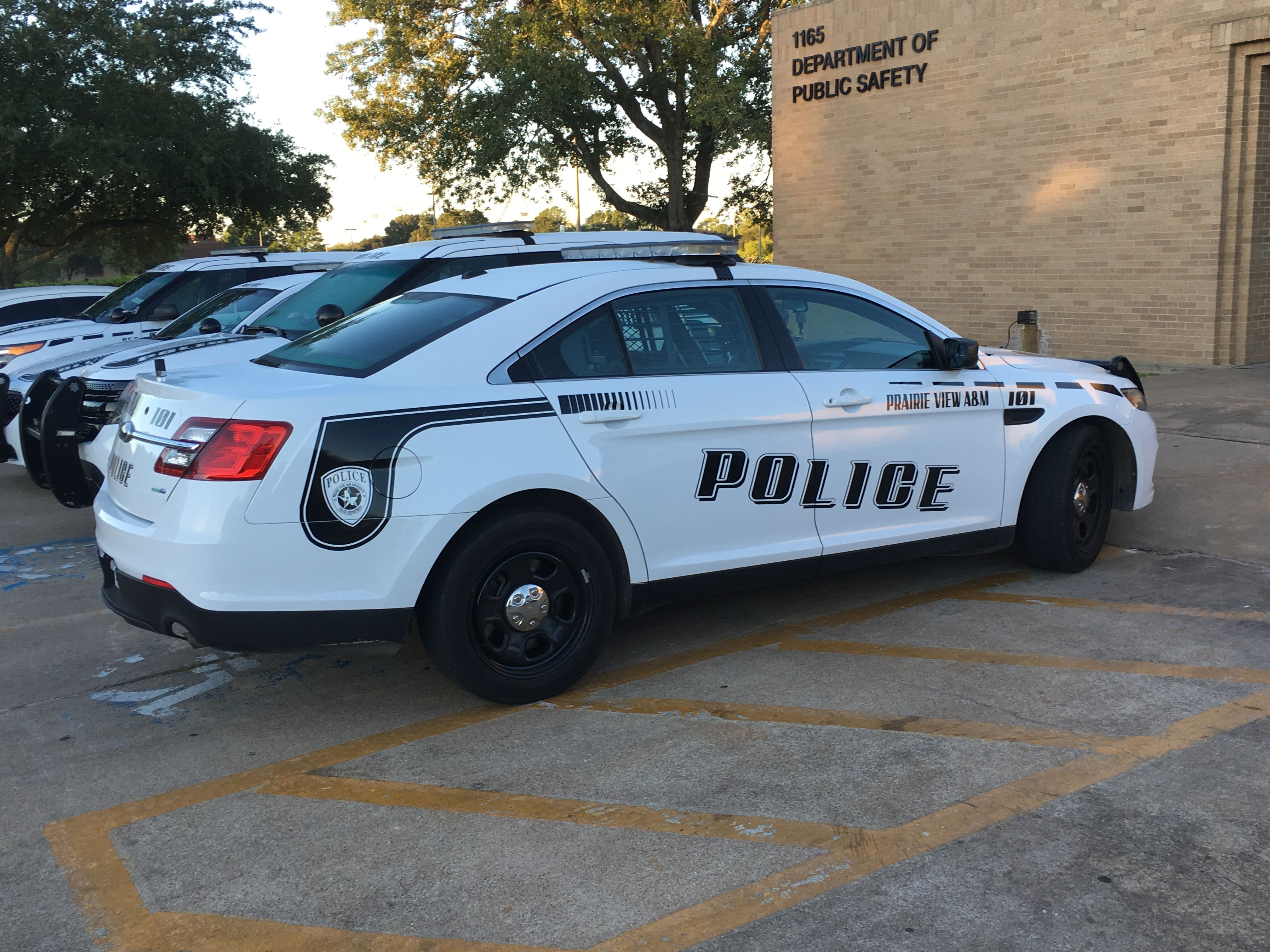 Prairie View A M University Police Department Ford Interceptor Texas Us Police Car Police Cars Ford Police