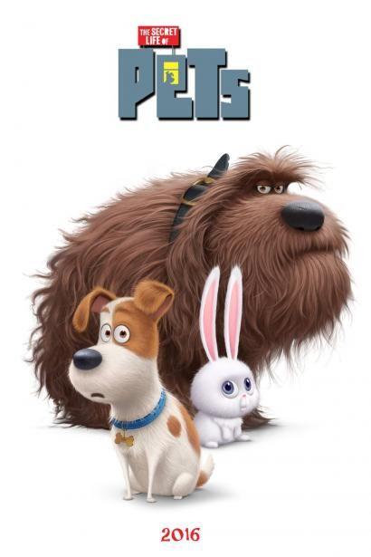 The Secret Life Of Pets Secret Life Of Pets Pets Movie Animated Movies