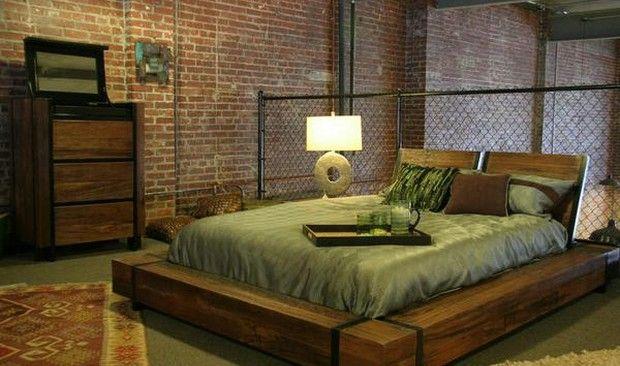 Creative Ideas Industrial Style Bedroom Furniture Magnificent Bed Arredamento Camera Da Letto Camere