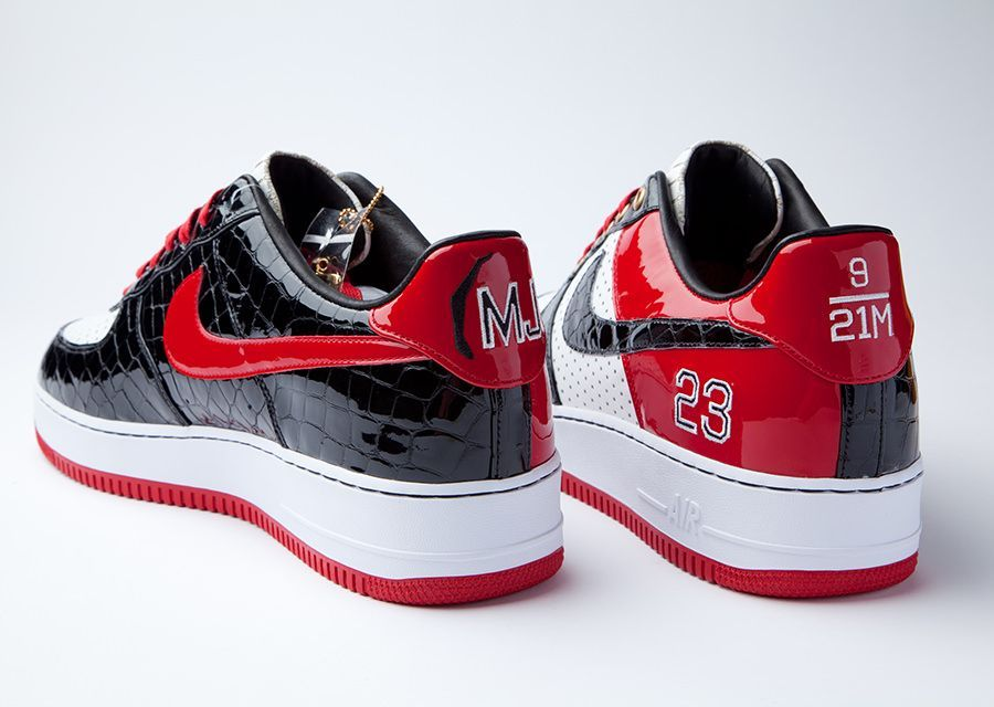 "brand new dfc7f 4d9f7 Nike Air Force 1 Bespoke ""Michael Jordan"" by Layupshot"