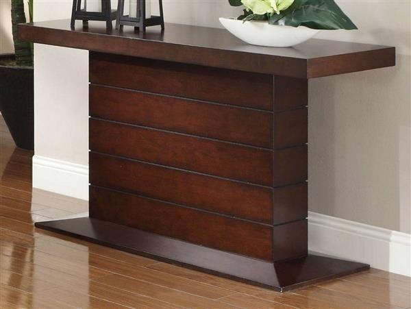 Nast Contemporary Cherry Wood Sofa Table Contemporary Console Table Console Table