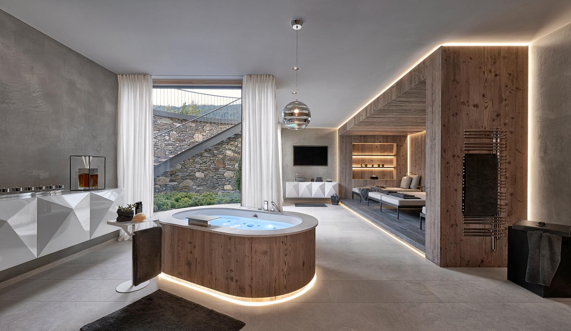 Gasteiger Bad Kitzbuhel Wellness Sauna Dampfbad Schwimmbad Whirlpool Spa Rooms Bathroom Spa Stylish Bathroom