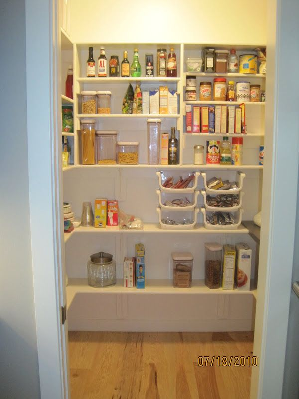Pantry Idea Minimum Size For Walk In Pantry Kitchens