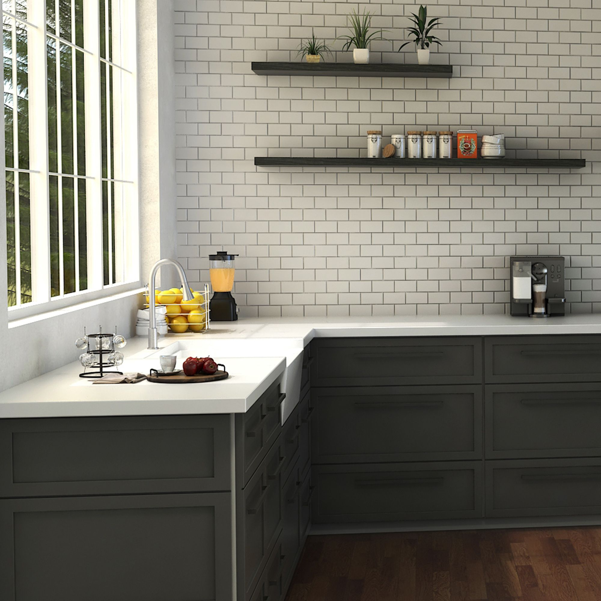 Zline Edison Kitchen Faucet In Brushed Nickel Eds Kf Bn Kitchen Faucet Design Edison Kitchen Faucet Kitchen Faucet