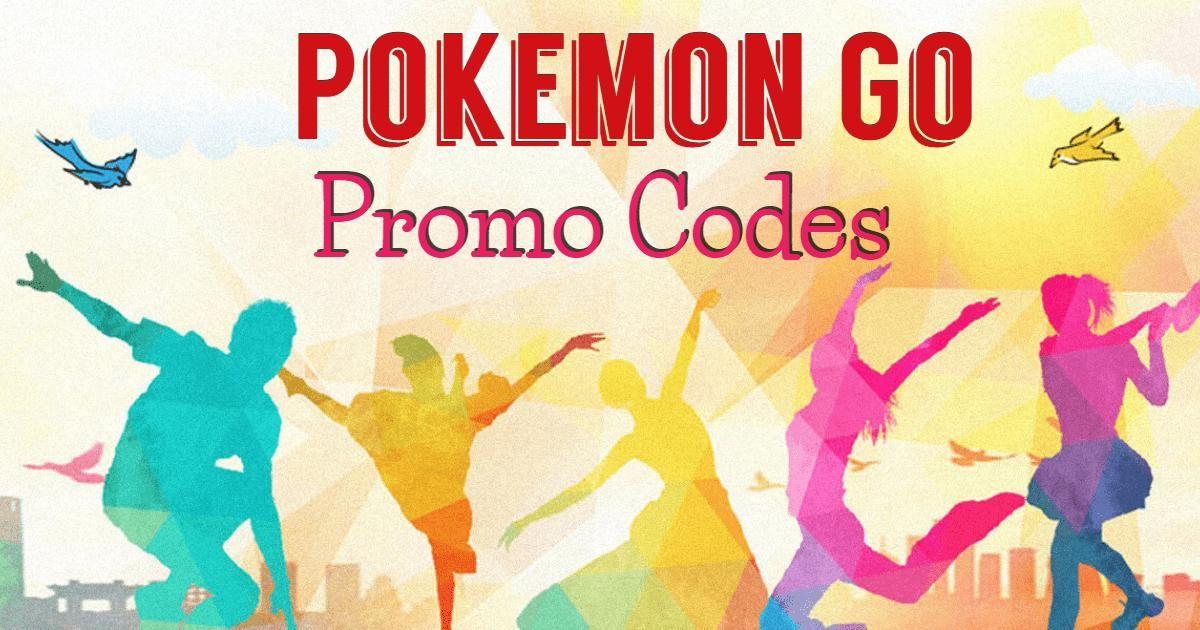 Free Pokemon Go Promo Codes March 2020 Pokemon Go Pokemon Code Pokemon