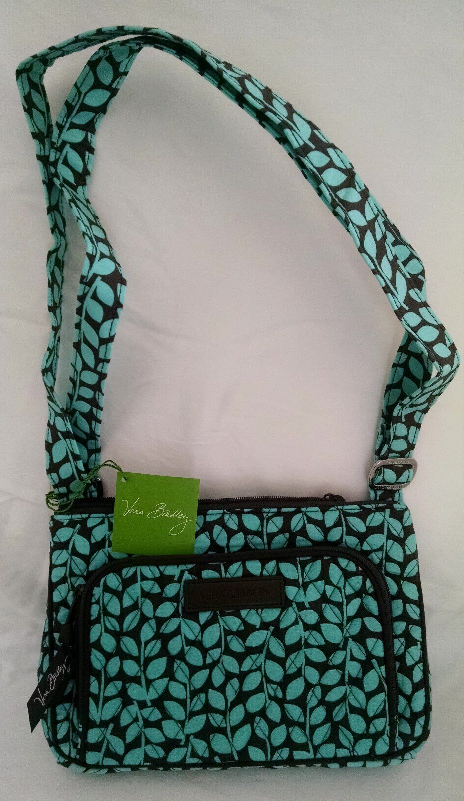 Retired Vera Bradley Little Hipster Shower Vine Crossbody Bag RARE   eBay 18aa78c85b