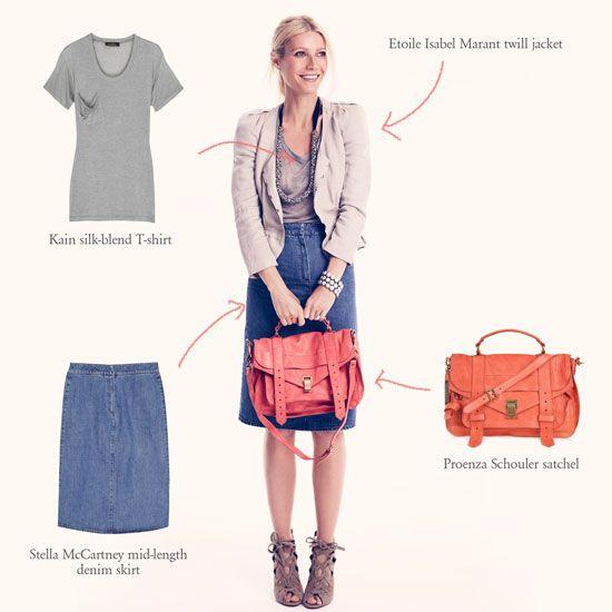 17 Best images about Denim skirt on Pinterest | Denim pencil skirt ...
